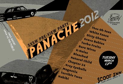 Panache Preview Party — March 13th at Scoot Inn